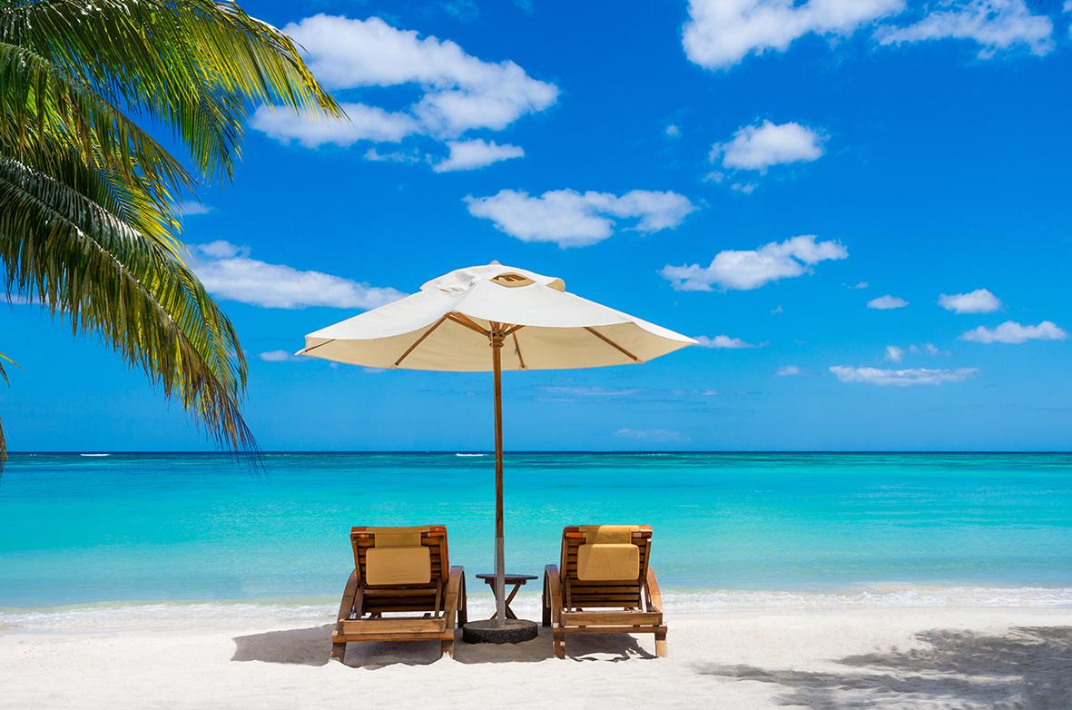 Aux Caraïbes. Merci pour des vacances magnifiques, sans complications...
