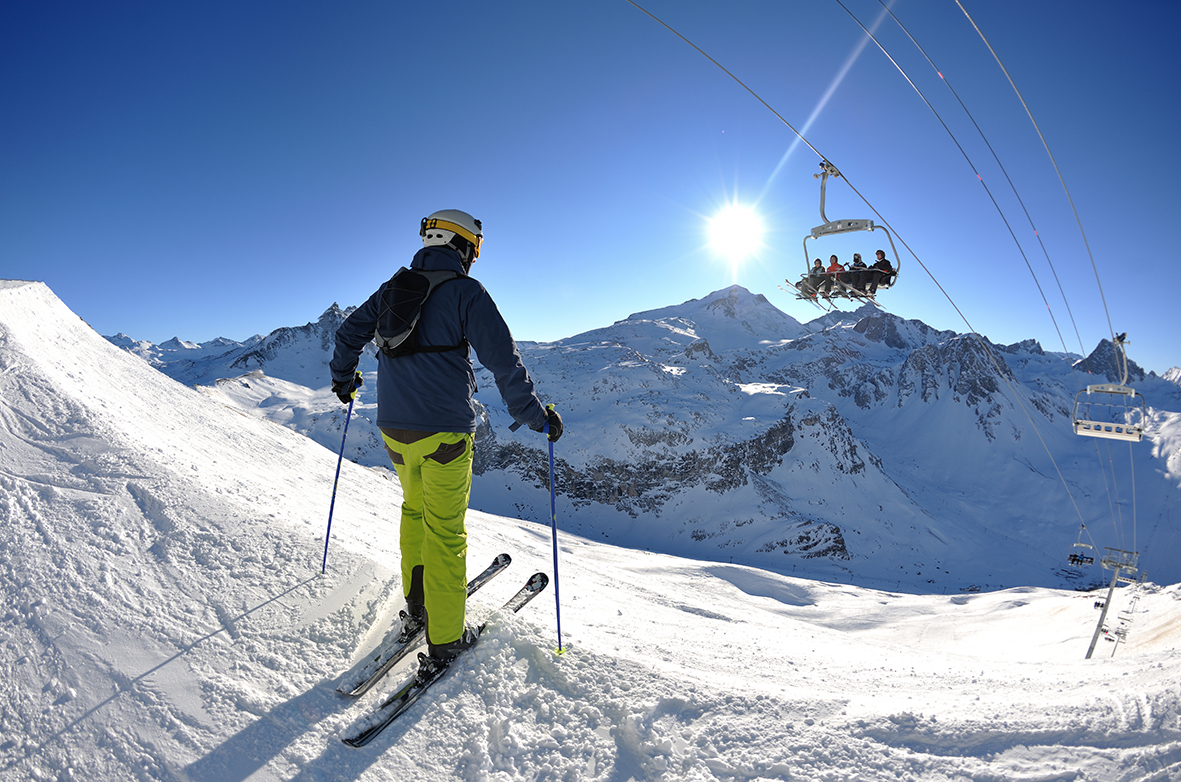 Vacances au ski : ...les pochettes ont été extrêmement utiles...
